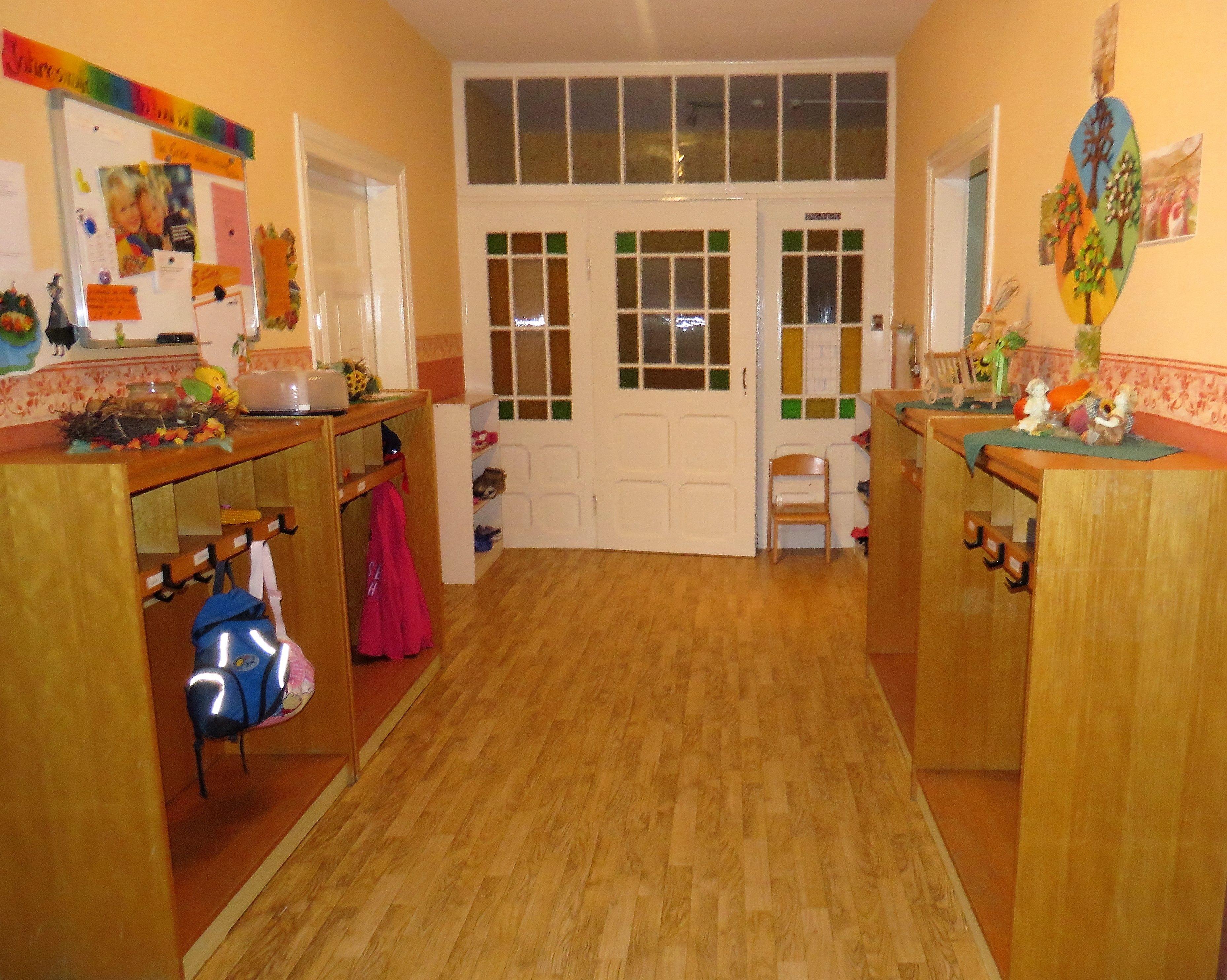 Garderobe 1. Etage