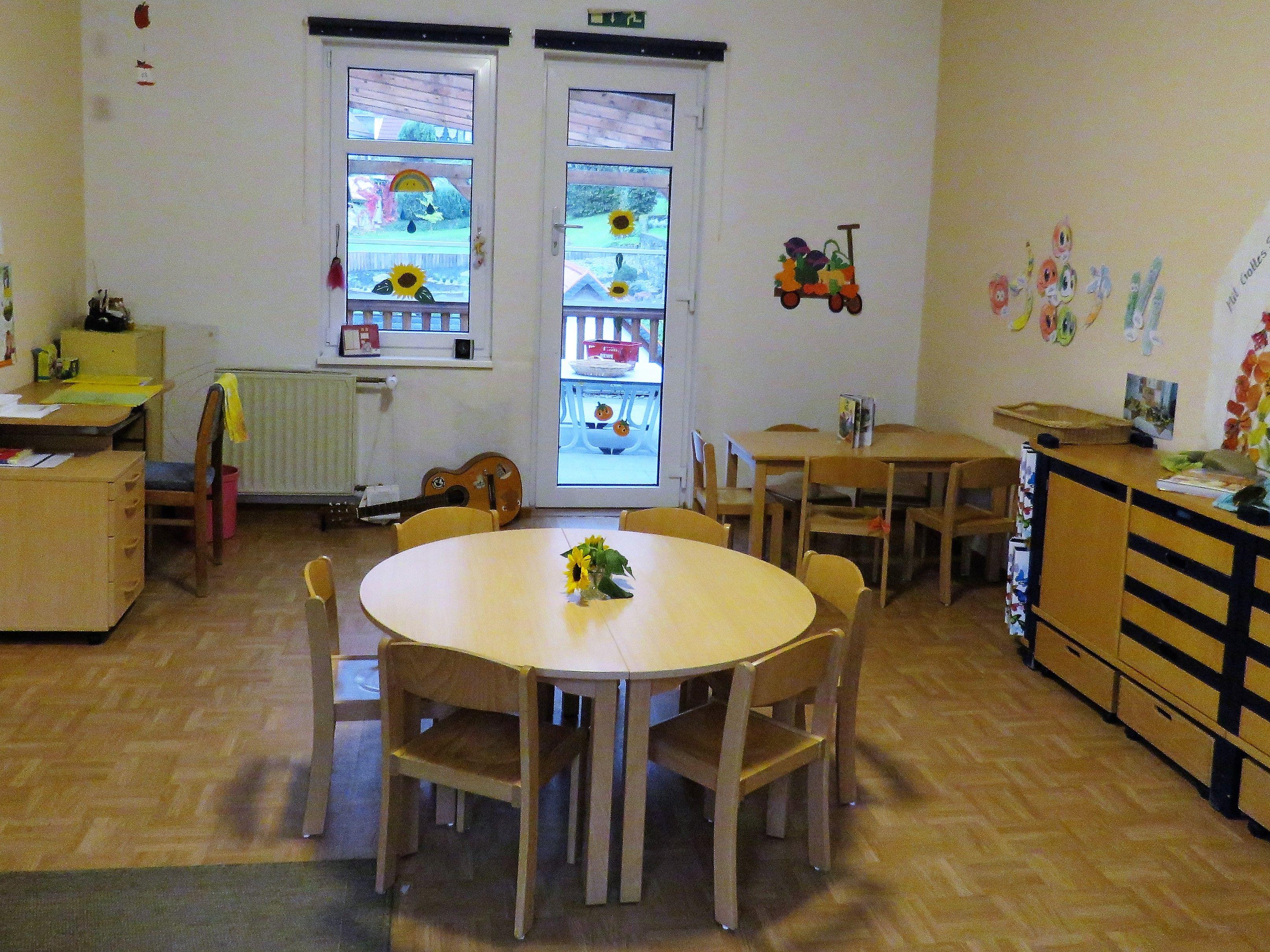 Gruppenraum 2 1. Etage Schmetterlinge
